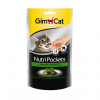 GimCat Nutri Pockets with Catnip and Multi-Vitamin 60g